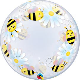 "24"" Deco Bubble Sweet & Daisies (01ct)"