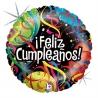 """18"""" Feliz Cumpleaños Cintas Holog (01ct)"""