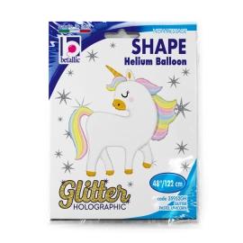 """48"""" Unicornio Glitter (01ct)"""