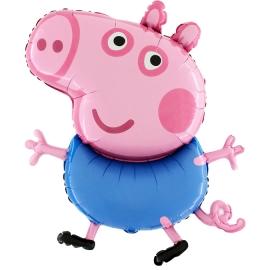 """41"""" George Pig (01ct)"""