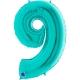 """40"""" Numero 9 Tiffany (helio y Aire)"""