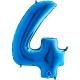 "40"" Numero 4 Blue (Helio y Aire) (1Ct.) 101 Cm."
