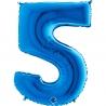 "40"" Numero 5 Blue (Helio y Aire) (1Ct.) 101 Cm."