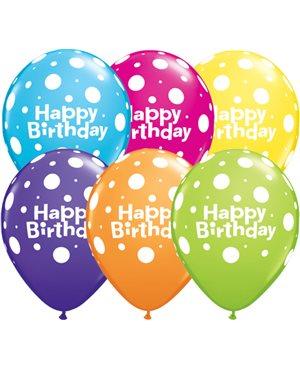 Birthday Big Polka Dots