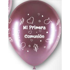 """12"""" M.D Niña Rosa (50 unid)"""