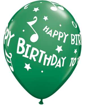 Happy Birthday To You Music Notes
