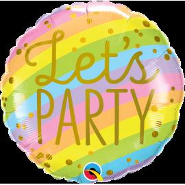"""18"""" Let´s Party Stripes (01ct)"""
