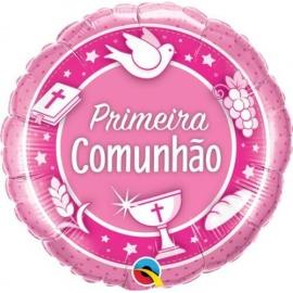 """18"""" Comunhao Rosa (01ct)"""