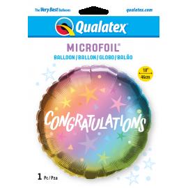 "18"" Congratulations Ombre & Star (01ct)"