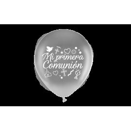 "11"" Mi Primera Comunión M.D Plata (50 unid)"