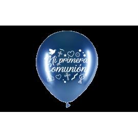 """11"""" Mi Primera Comunión M.D Azul (50 unid)"""