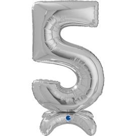 """25"""" Numero5 Plata (Sólo Aire) 63.5 Cm"""