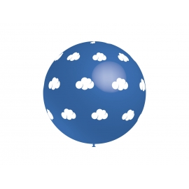 3Ft Nubes Blancas Azul (2 unid)