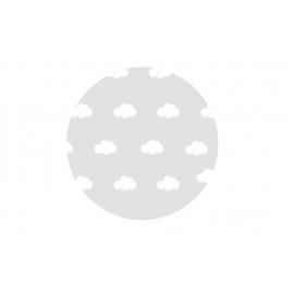 3Ft Nubes Blancas globo trasnparente (2 unid)