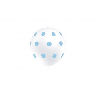 "11"" Lunares Azul (50 unid)"