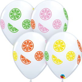 "11"" Colorful Fruit Slices (50 unid)"
