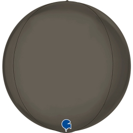"15"" Globe Esfera Platinum Grey 4d (38cm) (minimo 3 unid)"