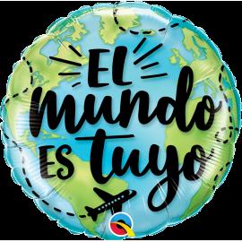 """18"""" El mundo es tuyo (01ct) Minimo 3 unid"""
