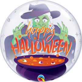 """22"""" Bubble Halloween Witch Brew (01ct)"""