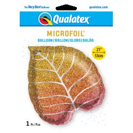 "21"" Fall Glittergraphic Ombré Leaf (01ct) Minimo 3 undi"