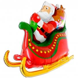 """46"""" Santa Sleigh (01ct)"""