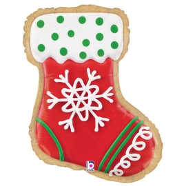 "27"" Stocking Cookie (01ct) Minimo 3 Unid"