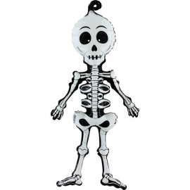 """29"""" Scary Skeleton (01ct) Para aire"""
