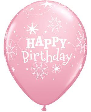 Birthday Sparkle - Pink & Wild Berry