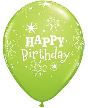 Birthday Sparkle - Lime Green