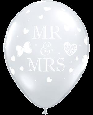 Mr. & Mrs. Diamond Clear