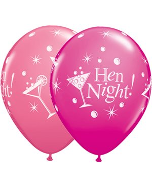 Hen Night Bubbly Wild Berry & Rose
